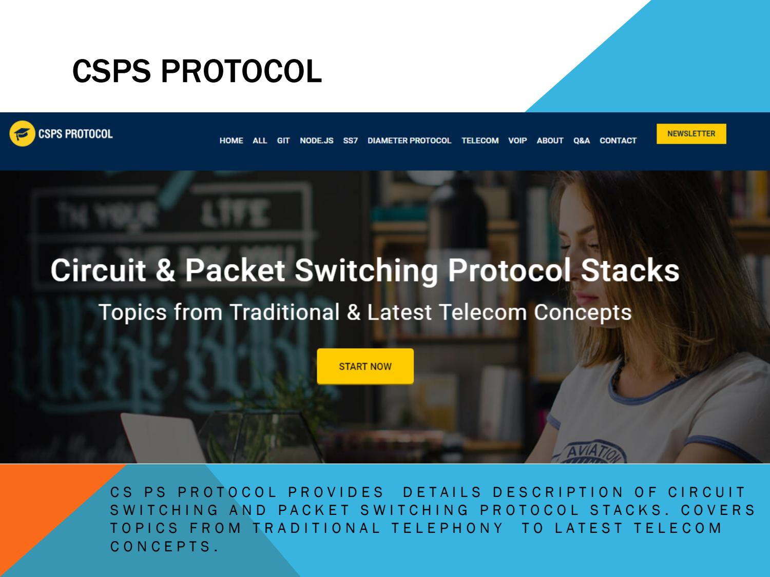 Circuit and Packet Switched Protocols and Programming