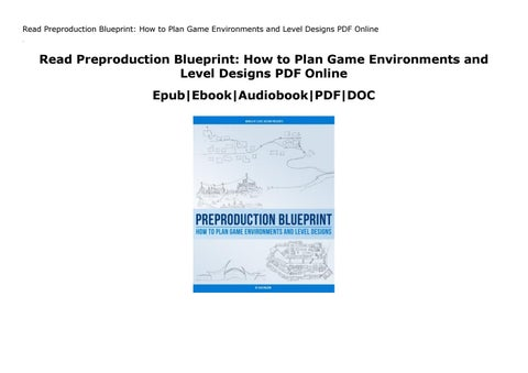 Preproduction Blueprint Pdf