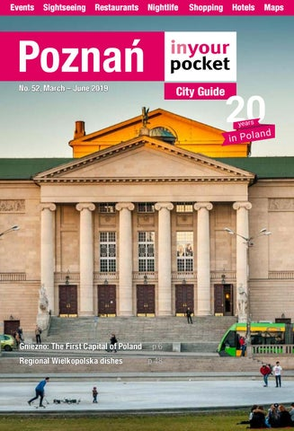 Poznan In Your Pocket March June 2019 By Poland In Your