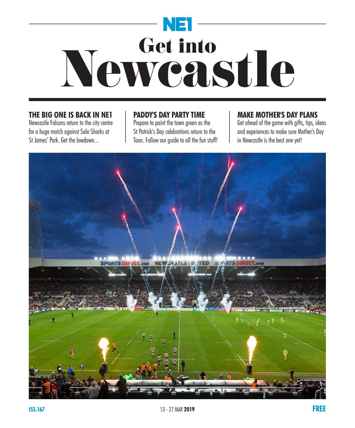noir Newcastle United FC St James Park Street Sign