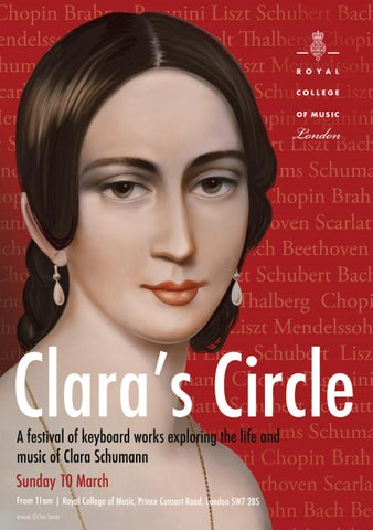 Clara's Circle programme by Royal College of Music - issuu