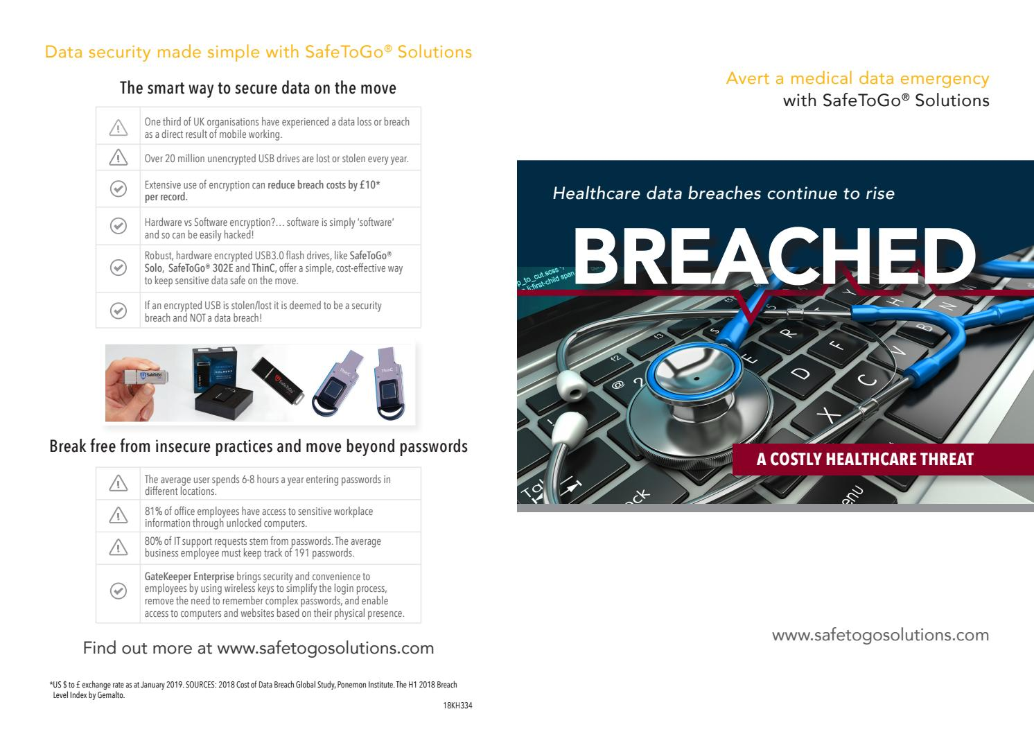 Breached - a costly healthcare threat by Cardwave Services Ltd - issuu