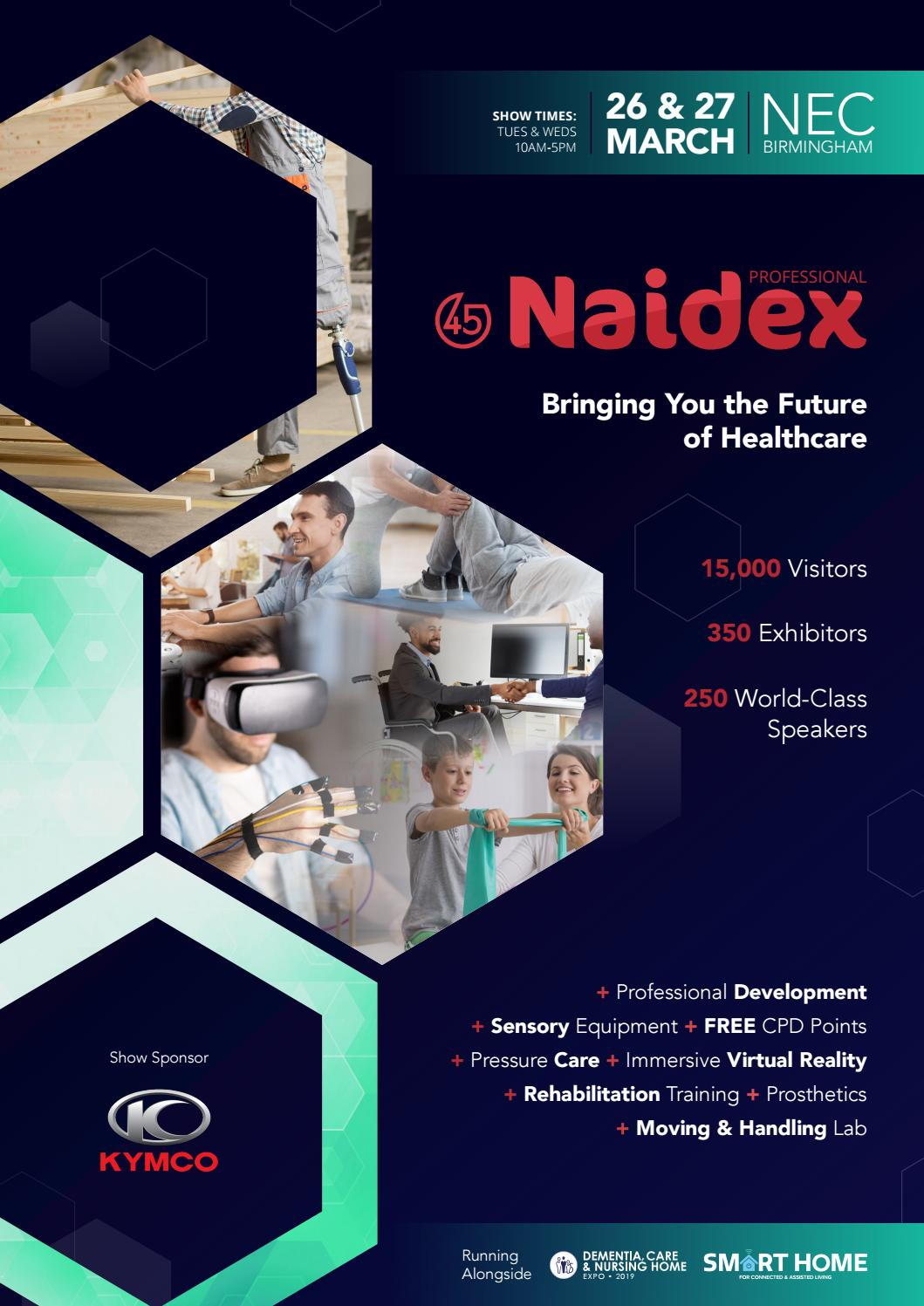 Naidex 45 Professional Showguide 2019 by Prysm Group - issuu