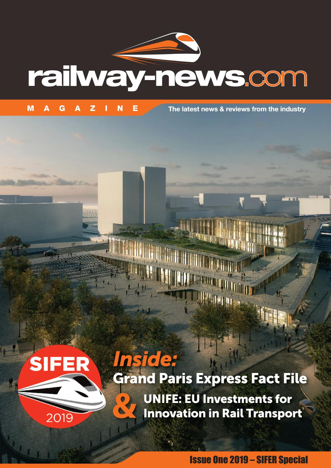 SIFER Special – Issue 1 / 2019 by Railway-News - issuu