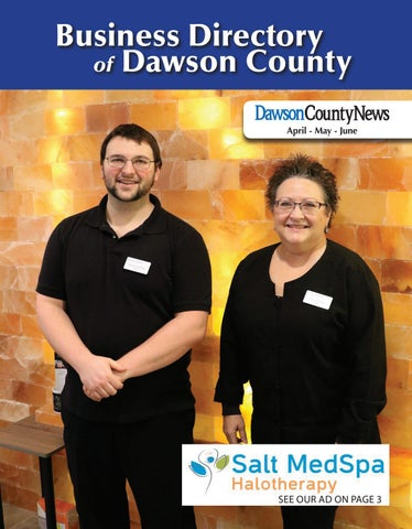 c4549ae137 Dawson Business Directory April May June 2019 by The Times - issuu