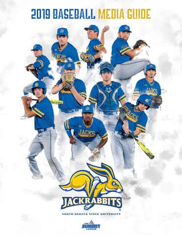 2019 South Dakota State Baseball Media Guide by South Dakota