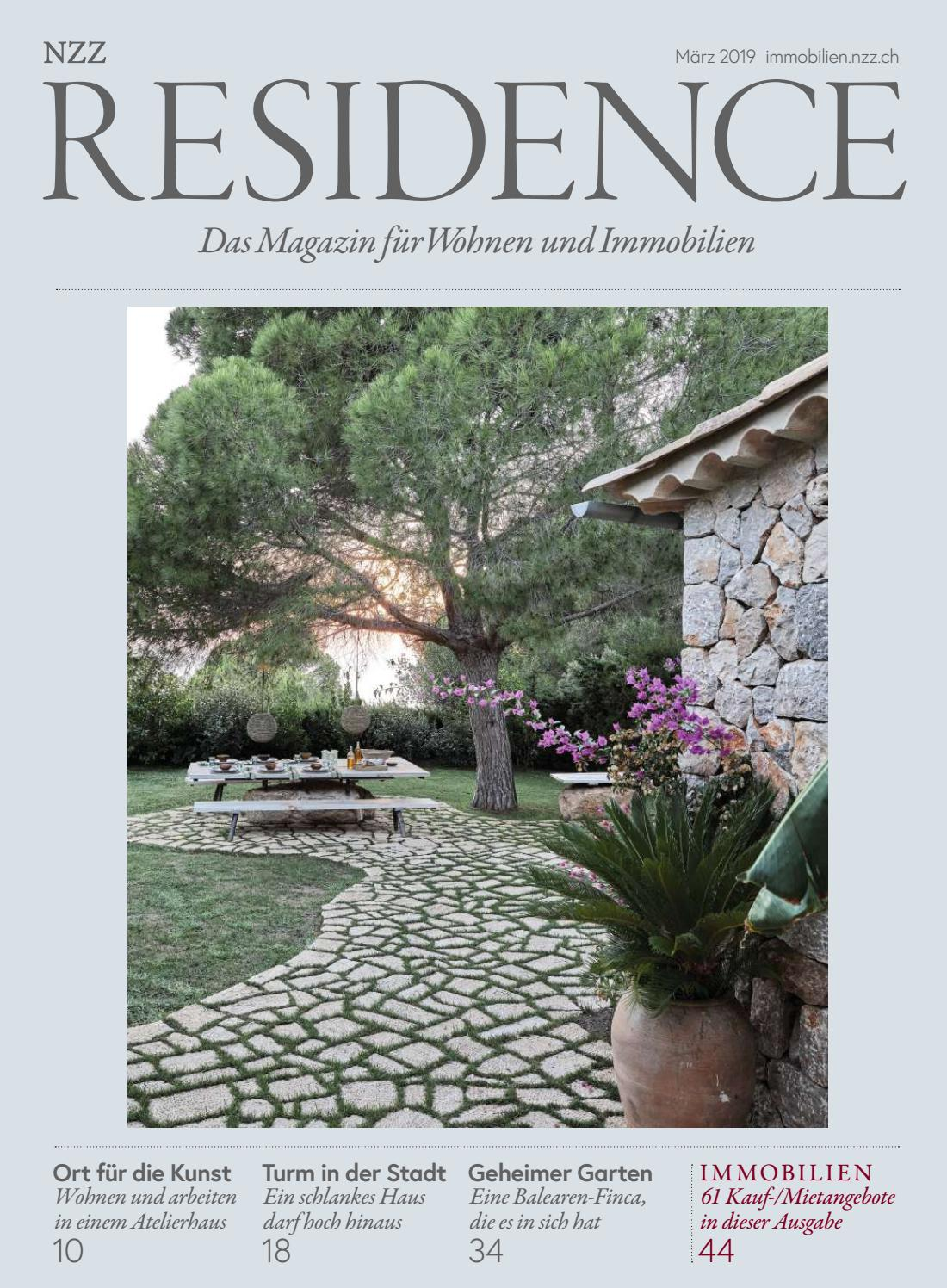 Residence Marz 2019 By Nzz Residence Issuu