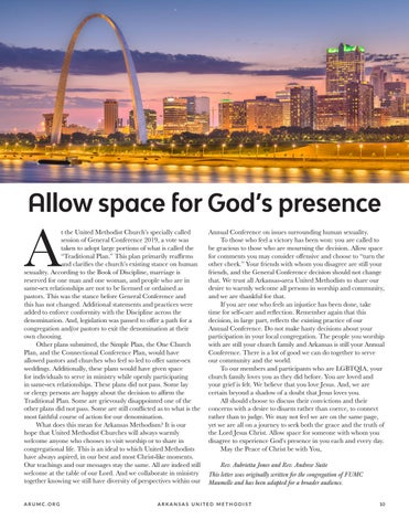 Page 11 of Allow space for God's presence