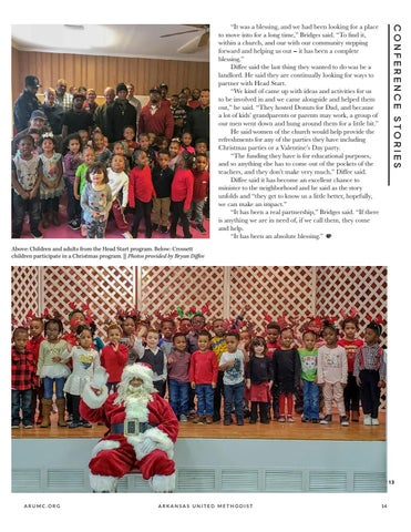 Page 15 of FUMC Crossett gives local kids a head start