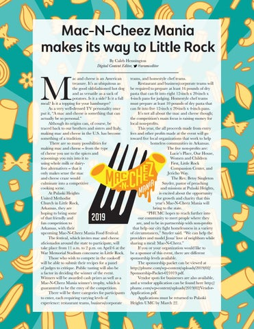 Page 21 of Mac-N-Cheez Mania makes its way to Little Rock