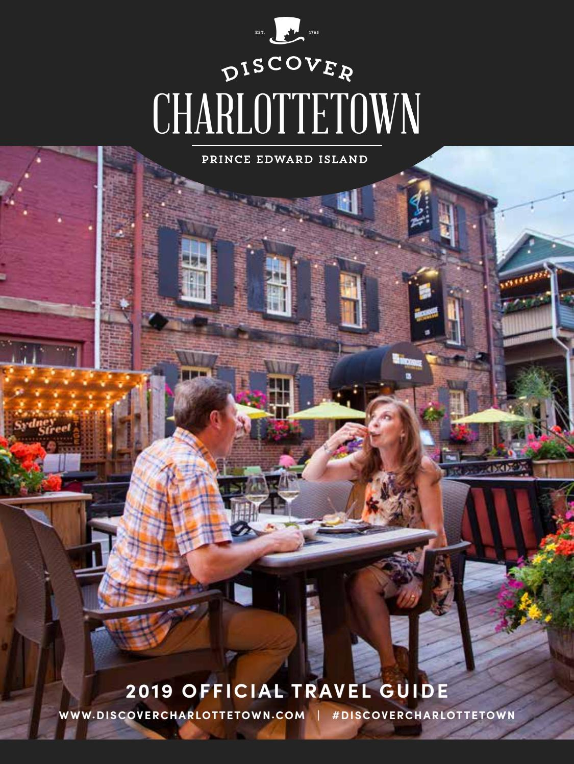 2019 Charlottetown Travel Guide by discovercharlottetown1864