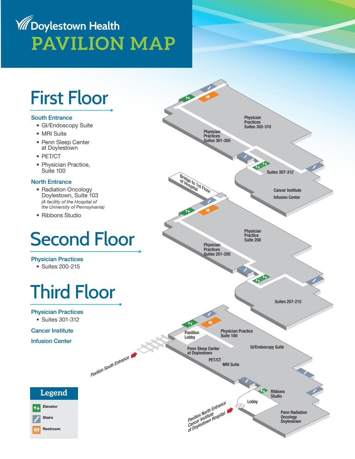 Endoscopy Suite: Pavilion Floor Plans By Doylestown Health