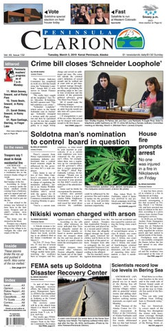 Peninsula Clarion March 05 2019 By Sound Publishing Issuu