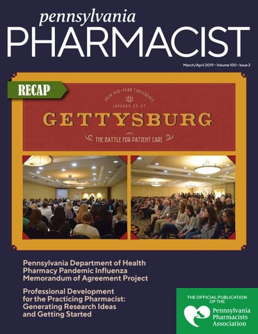 Pennsylvania Pharmacist March April 2019 By Graphtech Issuu
