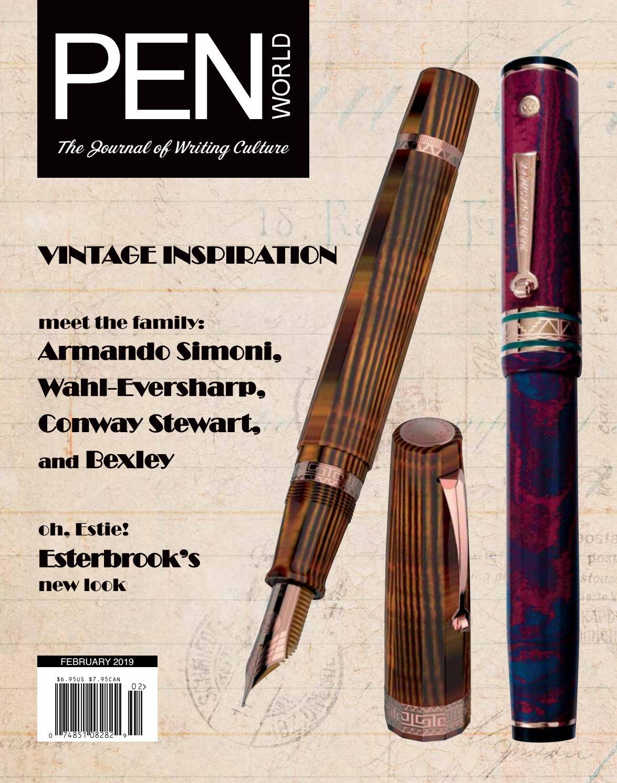Waterman  Hemisphere  Fountain Pen Rosewood Pink Fine Pt /& Converter New In Box