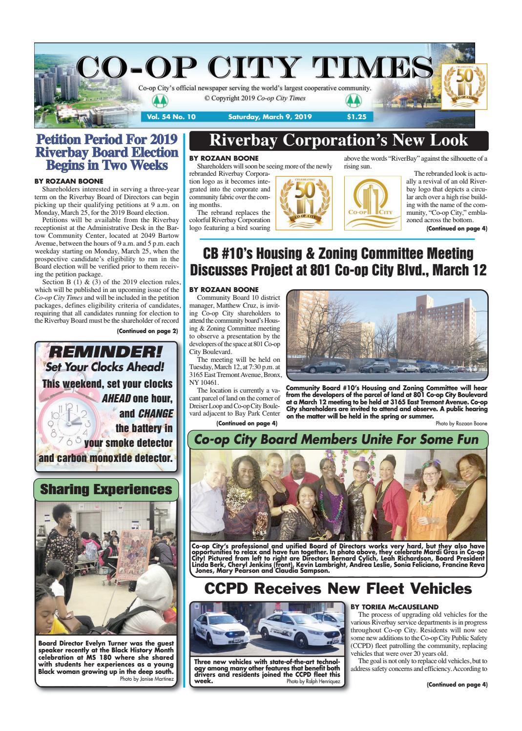 foto de Co-op City Times 3/9/19 by Co-op City Times - issuu