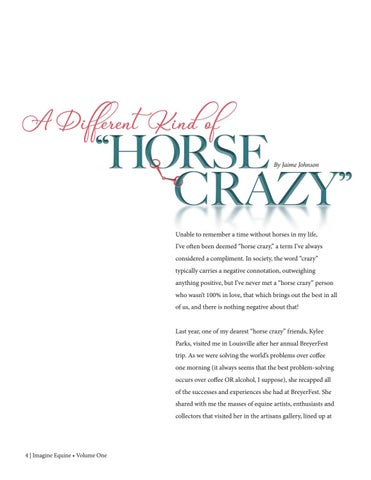 Page 4 of A Different Kind of Horse Crazy