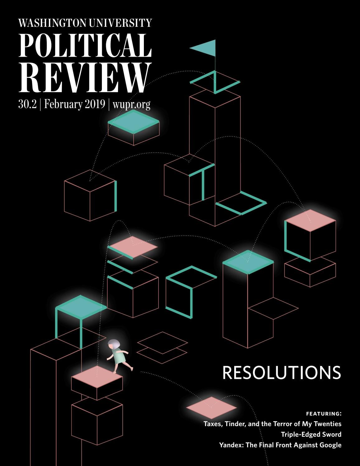 Resolutions by Washington University Political Review - issuu