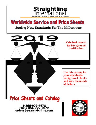 Straightline International's 2019 Worldwide Service and