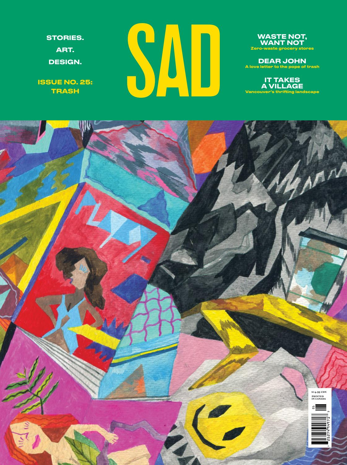fdca6bdb36fc25 Trash: Issue No. 25 by SAD Mag - issuu