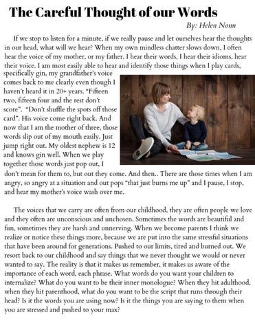 Page 20 of The Careful Thought of our Words