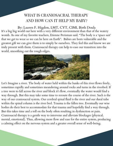 Page 23 of What is Craniosacral Therapy and how can it help my baby?