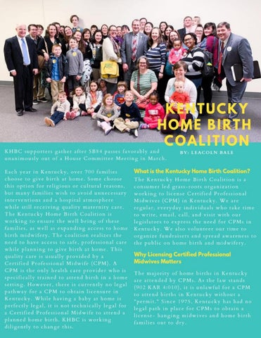 Page 32 of Kentucky Home Birth Coalition Update