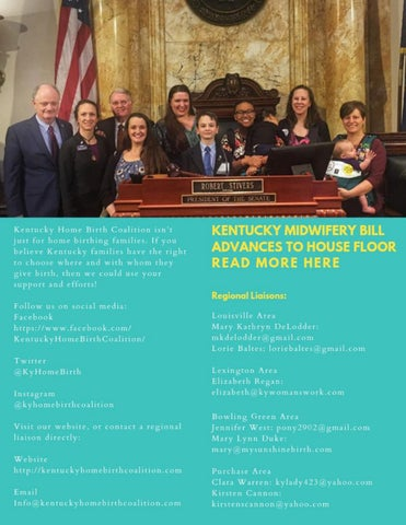 Page 33 of Kentucky Home Birth Coalition Update