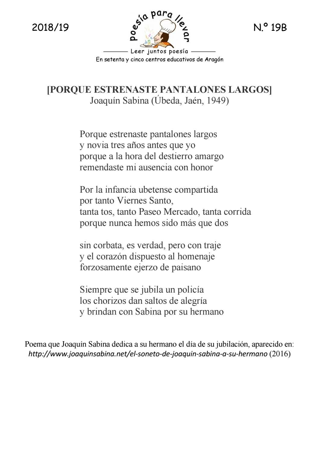 Ppll181919bjoaquín Sabina Porque Estrenaste Pantalones