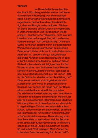 Page 63 of Feldstudie zur Raumsituation Kreativschaffender in Nürnberg
