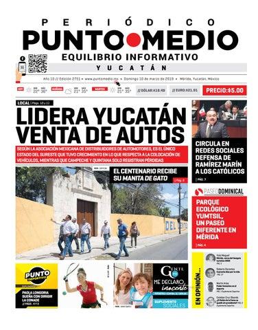 22f3e4bf2712 Edición impresa del domingo 10 de marzo de 2019 by Punto Medio - issuu