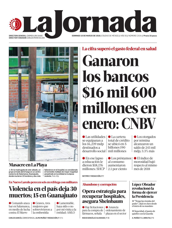 c7996db9d La Jornada, 03/10/2019 by La Jornada - issuu