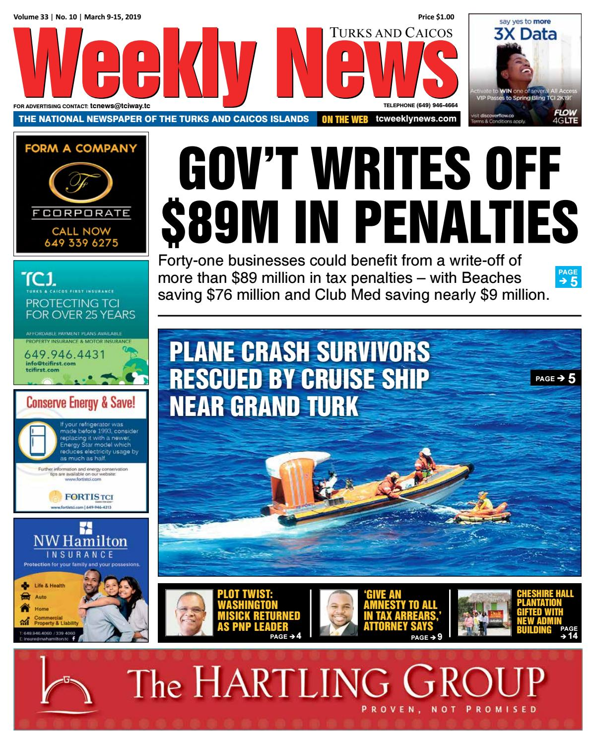 TCWN March 9 -15, 2019 by TC Weekly News - issuu