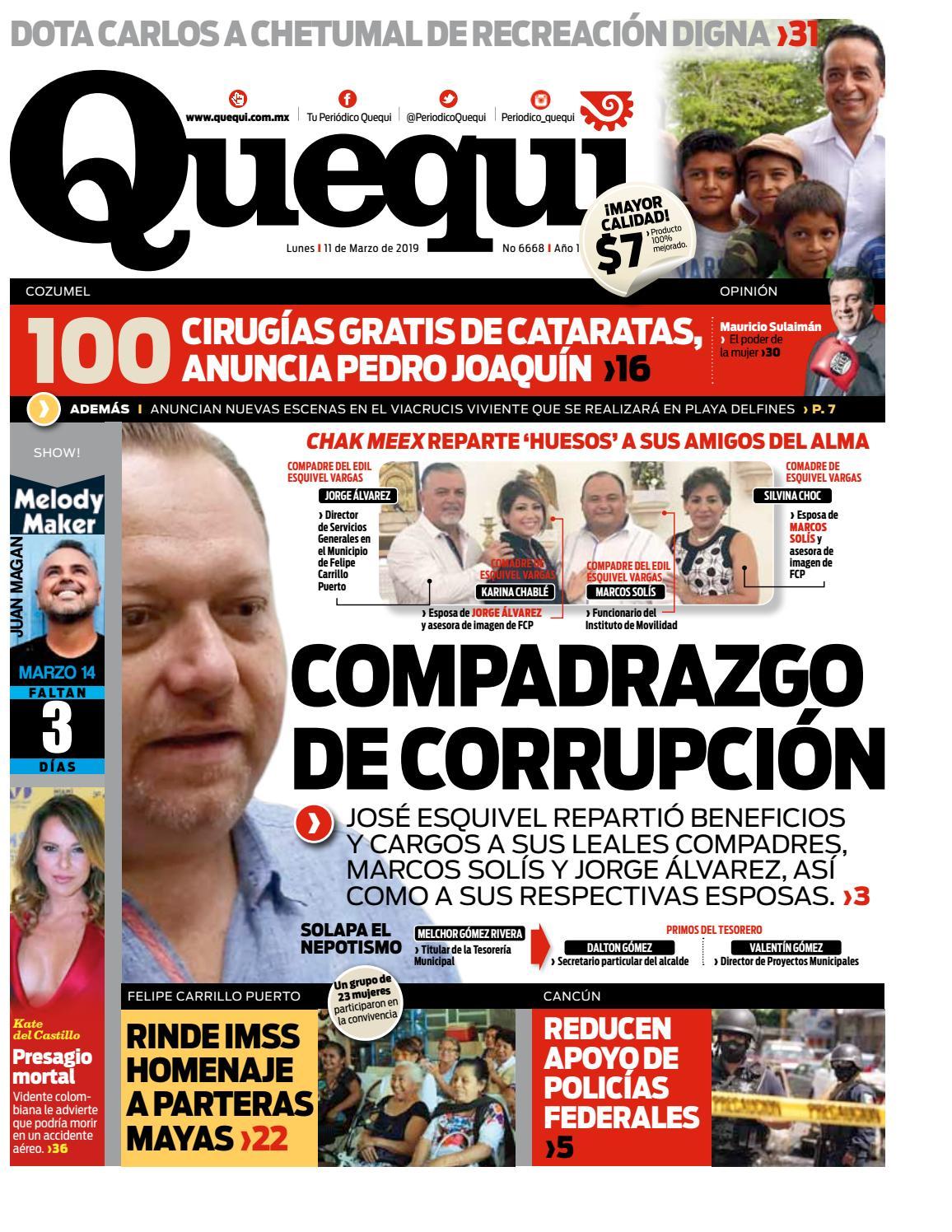 ef19ff0e7 TU PERIODICO QUEQUI by Quequi - issuu
