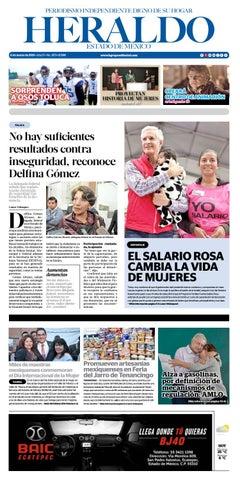 Lunes 11 Marzo 2019 by Heraldo Estado de México - issuu