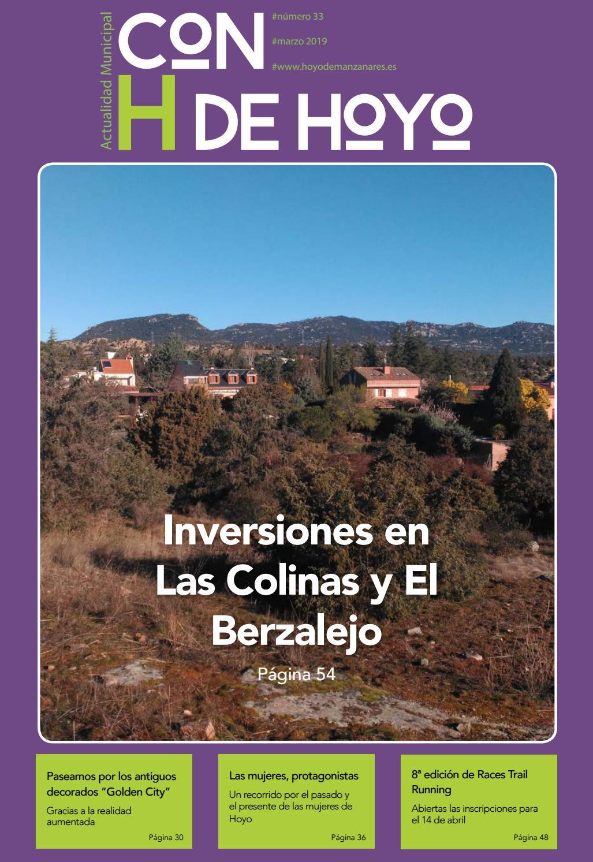 Revista Actualidad Municipal 33 By Ayuntamiento De Hoyo De Manzanares Issuu
