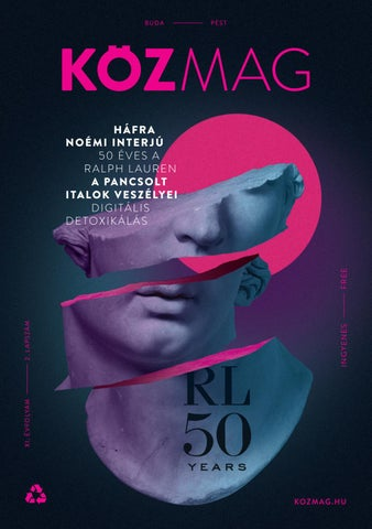 "Cover of ""KÖZMAG Budapest 2018 Novemver"""
