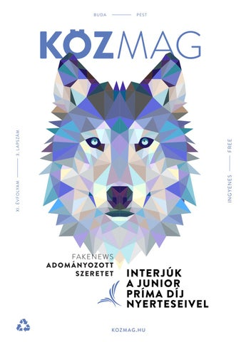 "Cover of ""KÖZMAG Karácsony Budapest - 2018 December"""