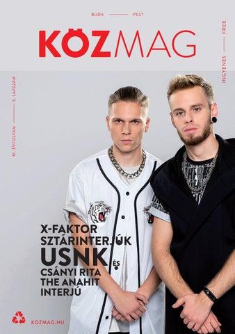 "Cover of ""KÖZMAG Budapest - 2019 Március"""