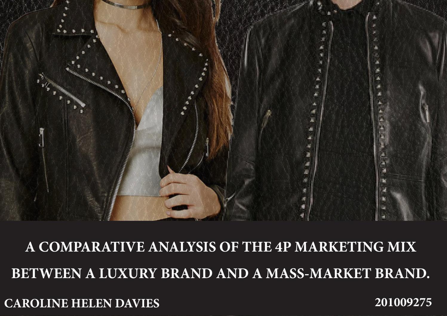 e17b64896 Comparative analysis of the marketing mix of Valentino and Forever ...