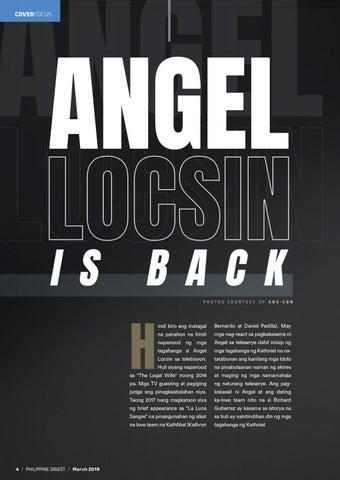 Page 4 of Angel Locsin is back!