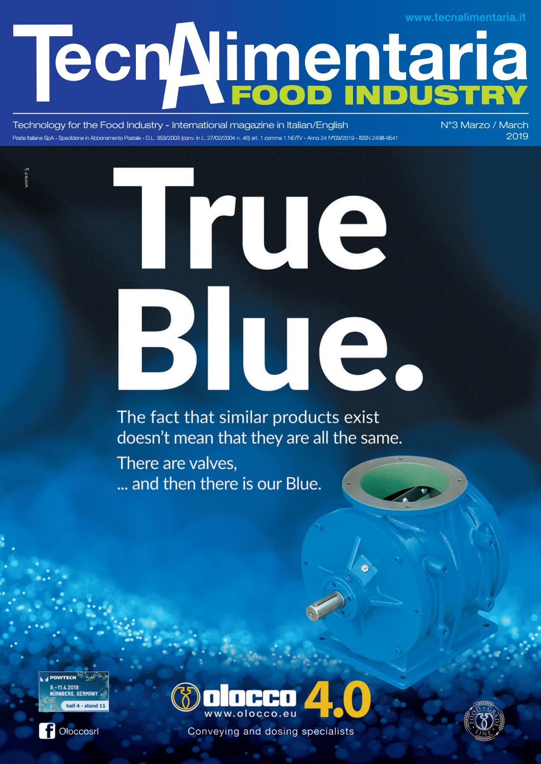5d958a536c24 TecnAlimentaria Food Industry - Marzo Mach 2019 by TecnAlimentaria  Magazines - issuu