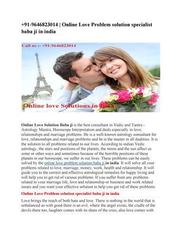 91-9646823014 | Online Love Problem solution specialist baba ji in