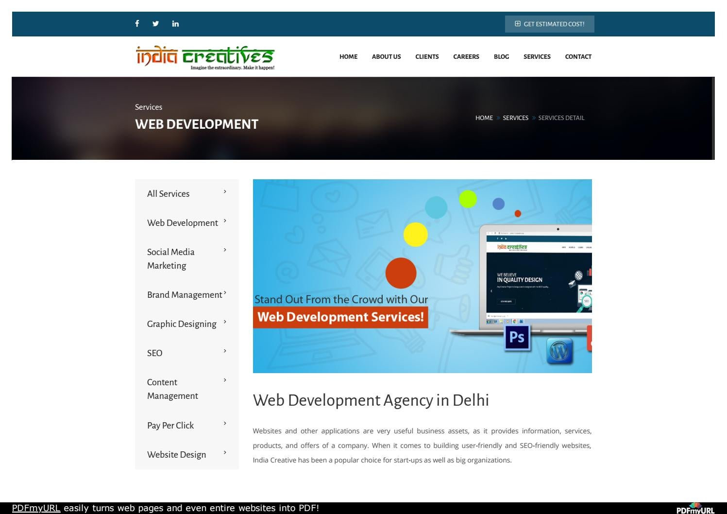Web Development Services to Thrive by India Creatives - issuu