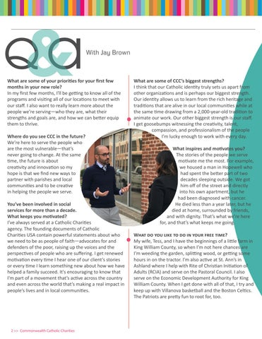 Page 2 of Q&A With Jay Brown