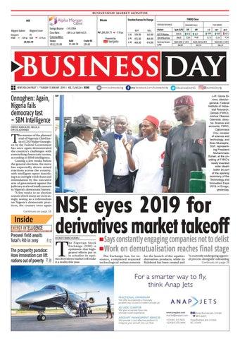 BusinessDay 15 Jan 2019 by BusinessDay - issuu