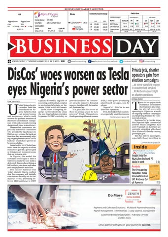 BusinessDay 16 Jan 2019