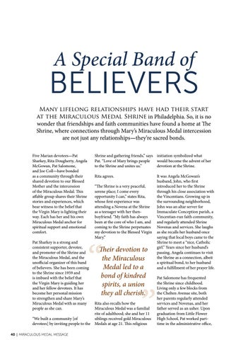 Page 40 of A Special Band of Believers
