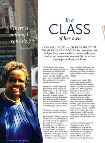 Page 42 of In a Class of Her Own