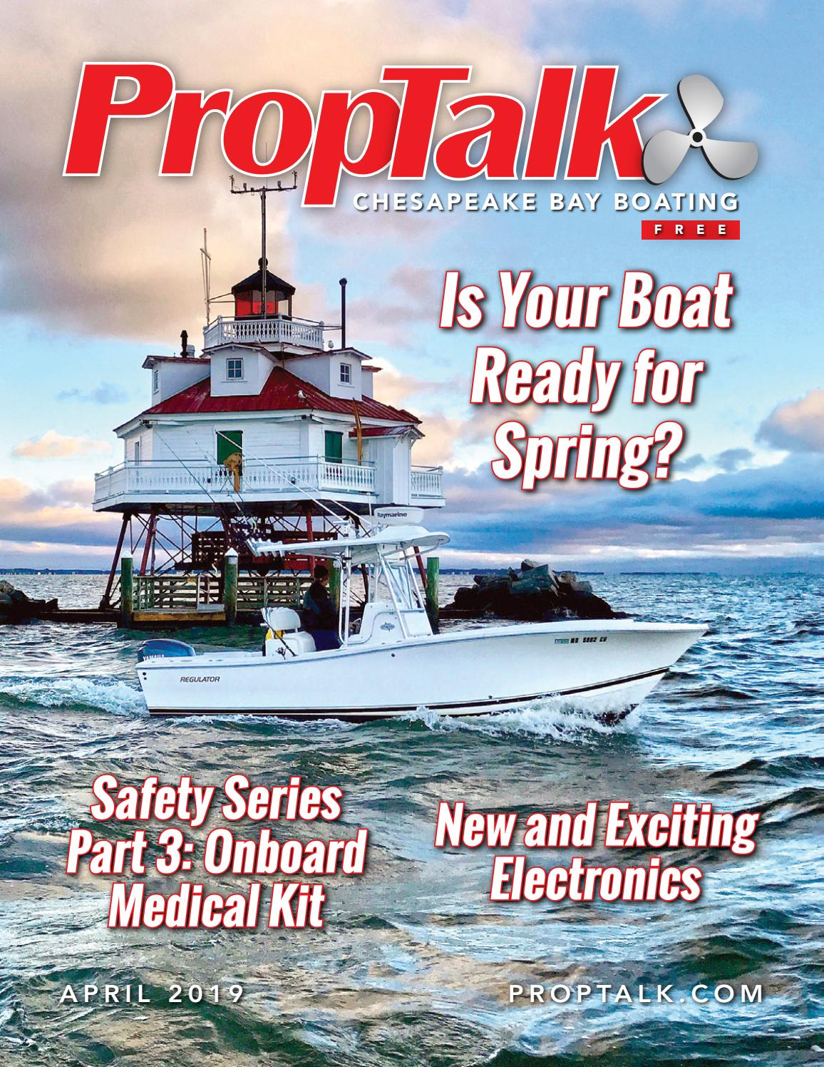 PropTalk Magazine April 2019 by SpinSheet Publishing Company